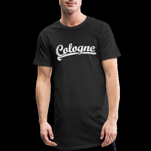 Cologne (Vintage Weiß) Sportliches Köln Design - Männer Urban Longshirt