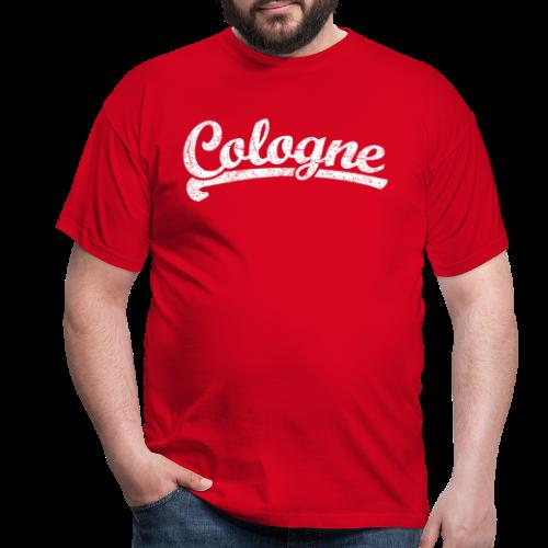 Cologne (Vintage Weiß) Sportliches Köln Design - Männer T-Shirt