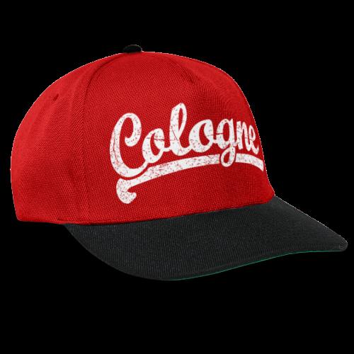 Cologne (Vintage Weiß) Sportliches Köln Design - Snapback Cap