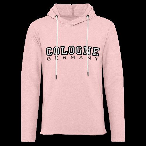 Cologne Germany (S/W) Köln Design aus Deutschland - Leichtes Kapuzensweatshirt Unisex