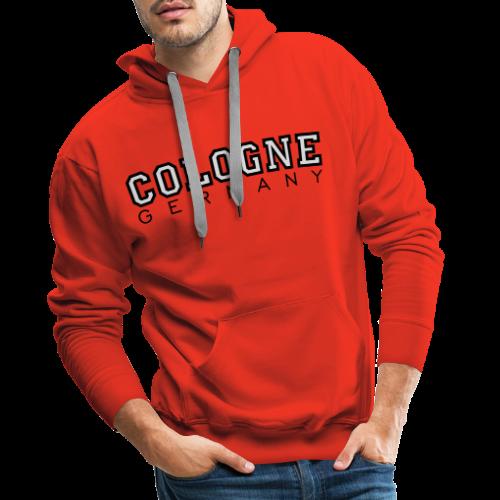 Cologne Germany (S/W) Köln Design aus Deutschland - Männer Premium Hoodie