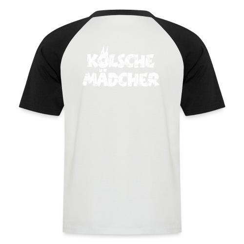 Kölsche Mädcher (Vintage Weiß) Kölner Mädchen aus Köln - Männer Baseball-T-Shirt