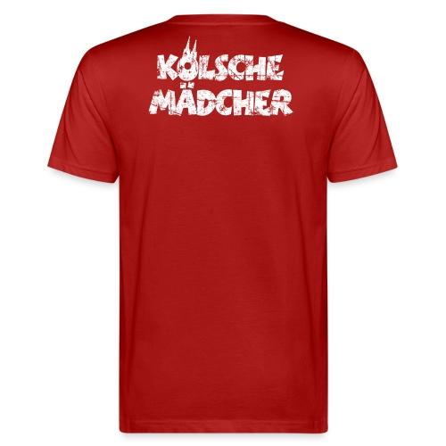 Kölsche Mädcher (Vintage Weiß) Kölner Mädchen aus Köln - Männer Bio-T-Shirt