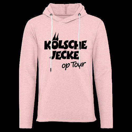 Kölsche Jecke op Tour (Weiß) Kölner Unterwegs - Leichtes Kapuzensweatshirt Unisex