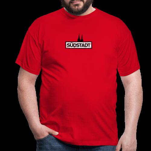 Köln Südstadt mit Kölner Dom (Vintage) - Männer T-Shirt