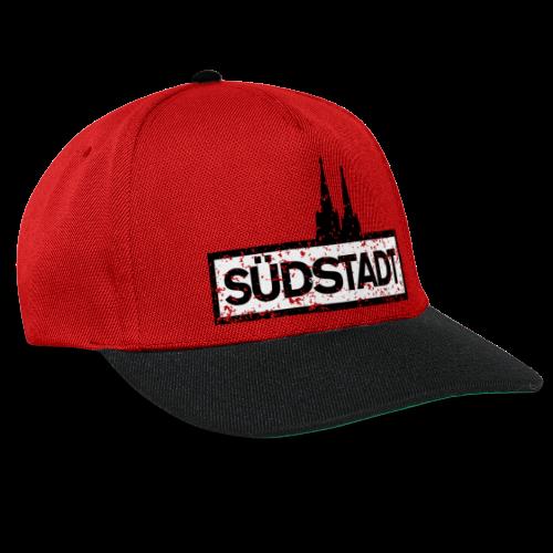 Köln Südstadt mit Kölner Dom (Vintage) - Snapback Cap