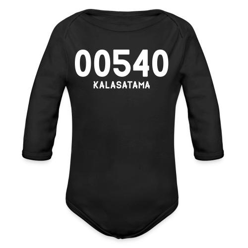 00540 KALASATAMA - Vauvan pitkähihainen luomu-body