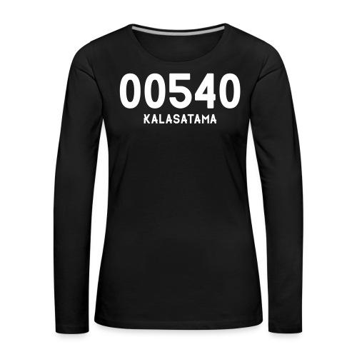 00540 KALASATAMA - Naisten premium pitkähihainen t-paita
