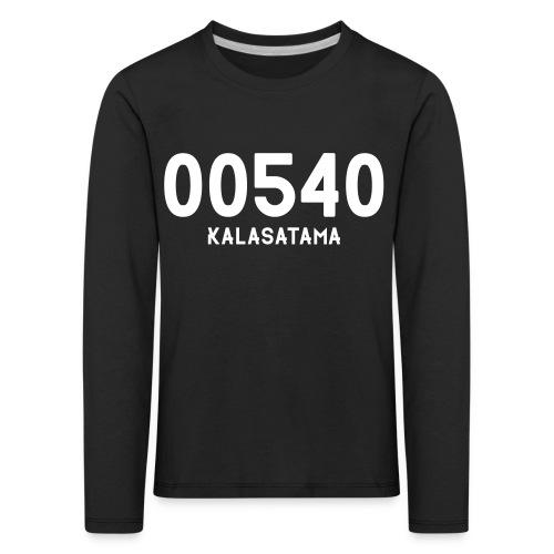 00540 KALASATAMA - Lasten premium pitkähihainen t-paita