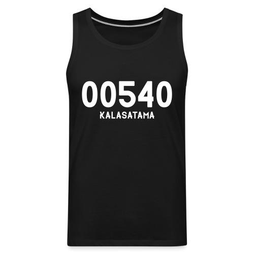 00540 KALASATAMA - Miesten premium hihaton paita