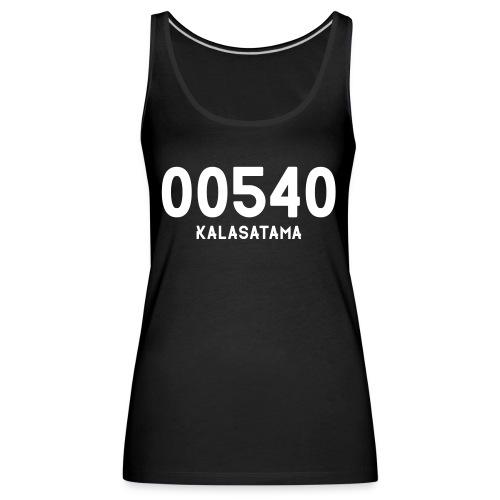 00540 KALASATAMA - Naisten premium hihaton toppi