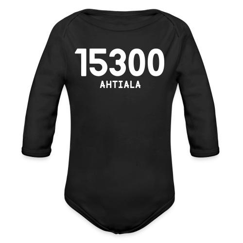 15300 AHTIALA - Vauvan pitkähihainen luomu-body