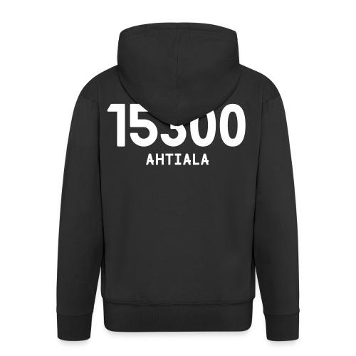 15300 AHTIALA - Miesten premium vetoketjullinen huppari