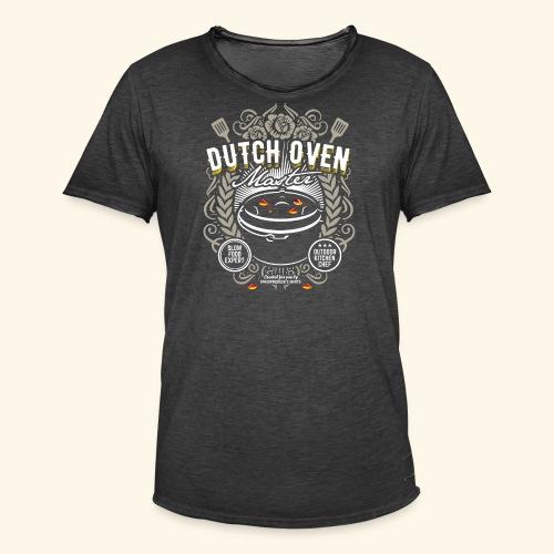 Dutch Oven T Shirt Dutch Oven Master - Männer Vintage T-Shirt