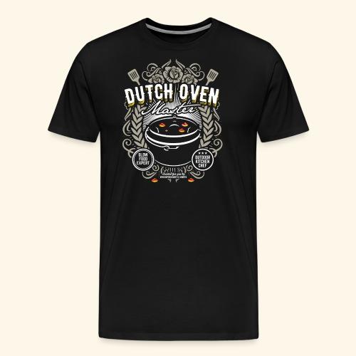 Dutch Oven T Shirt Dutch Oven Master - Männer Premium T-Shirt