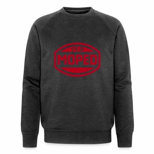 Moped VEB Logo (1c) - Men's Organic Sweatshirt by Stanley & Stella
