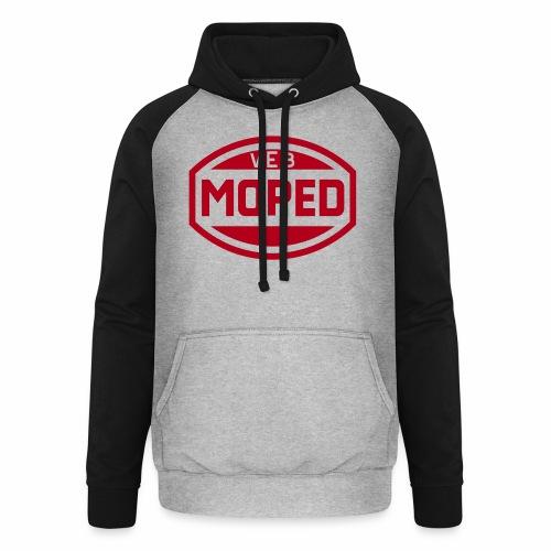 Moped VEB Logo (1c) - Unisex Baseball Hoodie