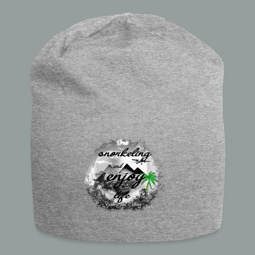 snorkeling and enjoy life - Jersey-Beanie