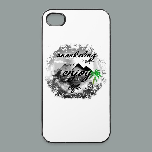 snorkeling and enjoy life - iPhone 4/4s Hard Case