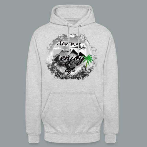 diving and enjoy life - Unisex Hoodie