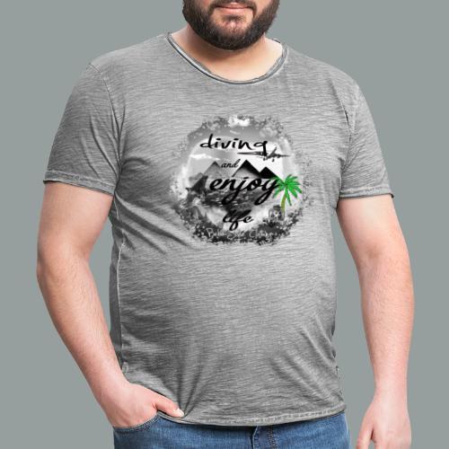 diving and enjoy life - Männer Vintage T-Shirt