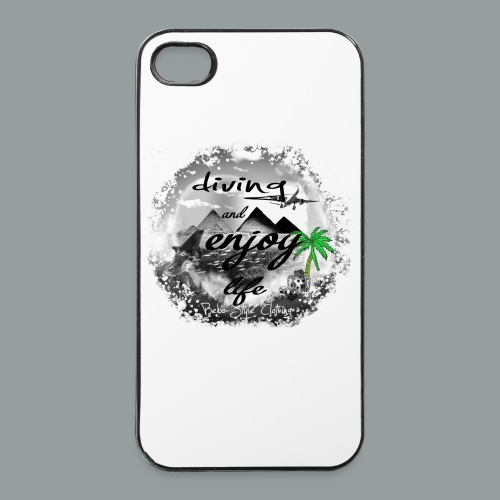 diving and enjoy life - iPhone 4/4s Hard Case