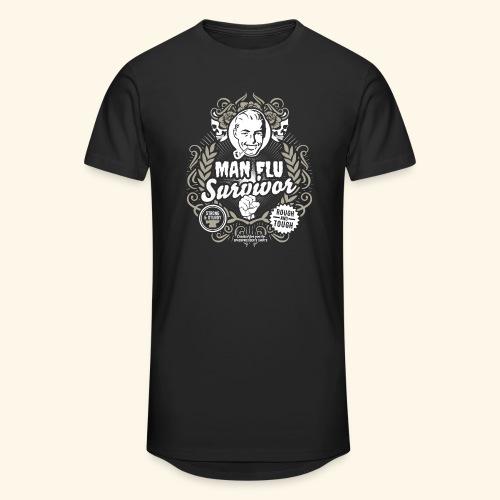 Man Flu Survivor T Shirt - Männer Urban Longshirt
