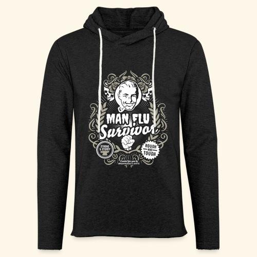 Man Flu Survivor T Shirt - Leichtes Kapuzensweatshirt Unisex