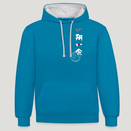 Straume Karateklubb - Contrast hoodie