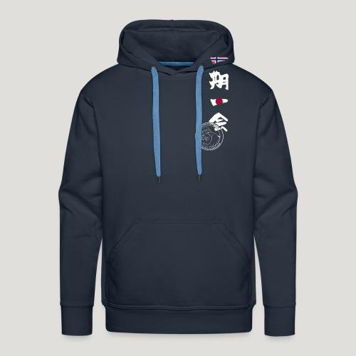 Straume Karateklubb - Mannen Premium hoodie
