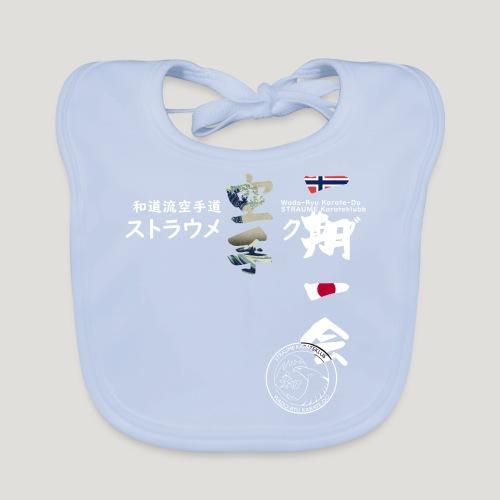 Straume Karateklubb - Bio-slabbetje voor baby's