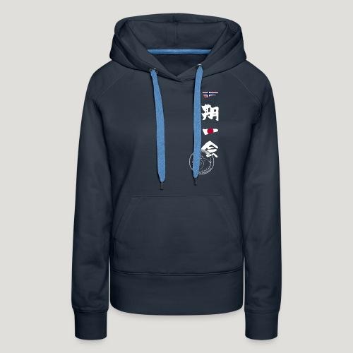 Straume Karateklubb - Vrouwen Premium hoodie