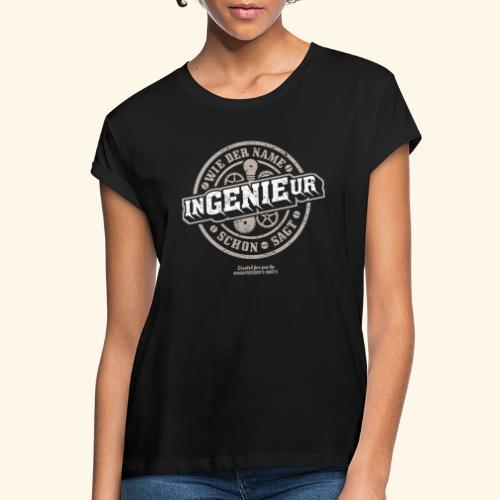 Ingenieur T Shirt Genie   Geschenkidee - Frauen Oversize T-Shirt