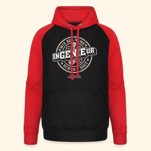 Ingenieur T Shirt Genie | Geschenkidee - Unisex Baseball Hoodie