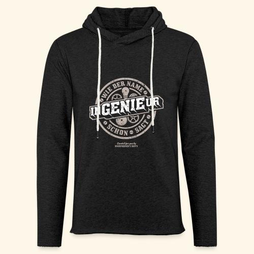 Ingenieur T Shirt Genie | Geschenkidee - Leichtes Kapuzensweatshirt Unisex