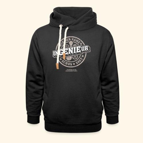 Ingenieur T Shirt Genie | Geschenkidee - Schalkragen Hoodie