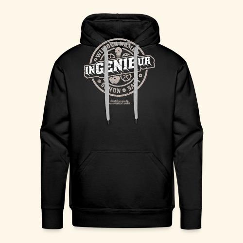 Ingenieur T Shirt Genie | Geschenkidee - Männer Premium Hoodie