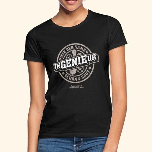 Ingenieur T Shirt Genie   Geschenkidee - Frauen T-Shirt