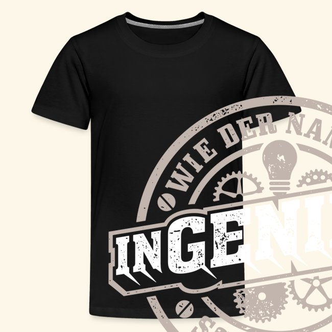 Ingenieur T Shirt Genie | Geschenkidee