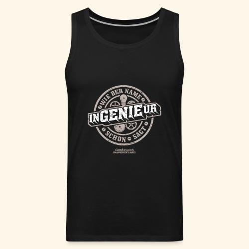 Ingenieur T Shirt Genie | Geschenkidee - Männer Premium Tank Top