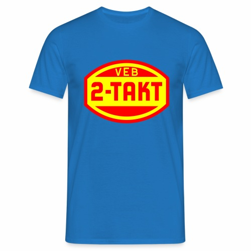 VEB 2-Takt Logo (2c) - Men's T-Shirt