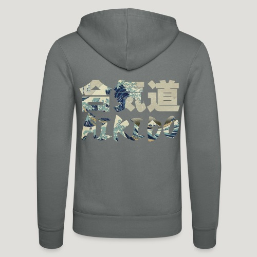 Aikido Hokusai The Great Wave - Unisex hoodie van Bella + Canvas