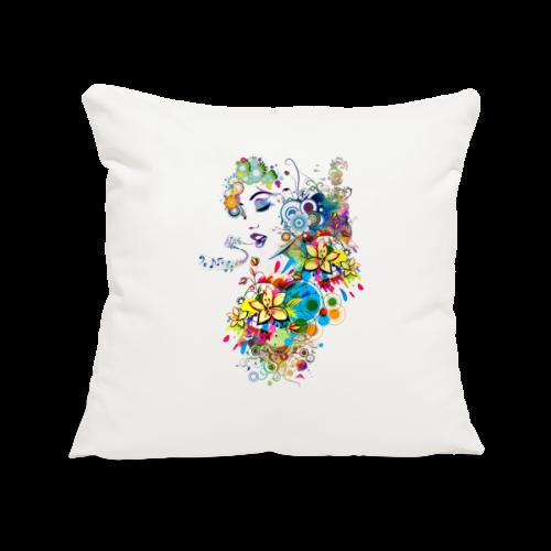 Lady singer Tee shirts - Housse de coussin décorative 45x 45cm