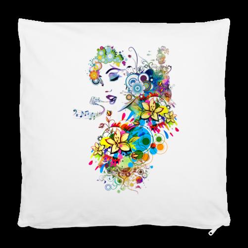 Lady singer Tee shirts - Housse de coussin 40 x 40 cm