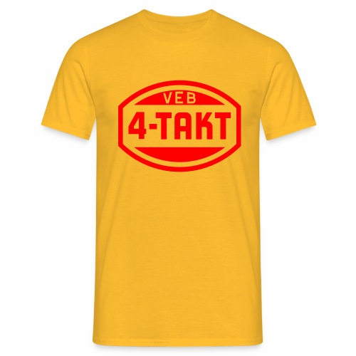 VEB 4-Takt Logo (1c) - Men's T-Shirt