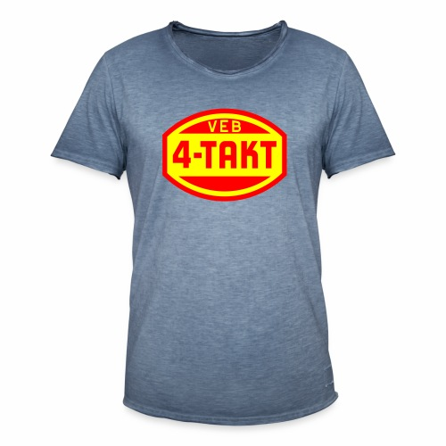 VEB 4-Takt Logo (2c) - Men's Vintage T-Shirt