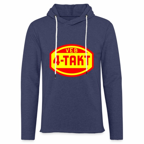 VEB 4-Takt Logo (2c) - Light Unisex Sweatshirt Hoodie