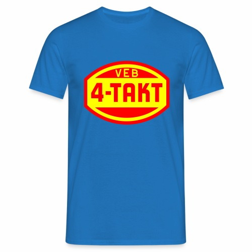 VEB 4-Takt Logo (2c) - Men's T-Shirt