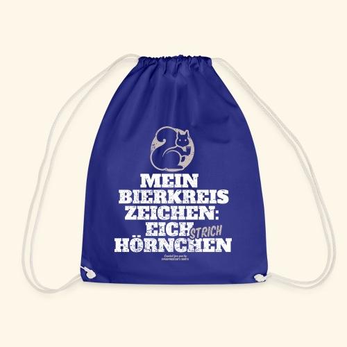 Lustiges Bier T Shirt Eichstrichhörnchen - Turnbeutel