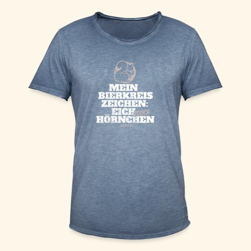Lustiges Bier T Shirt Eichstrichhörnchen - Männer Vintage T-Shirt